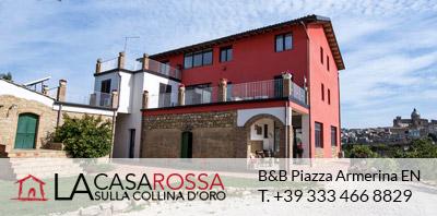 B&B La Casa Rossa Sulla Collina d'oro, Piazza Armerina - Sicily
