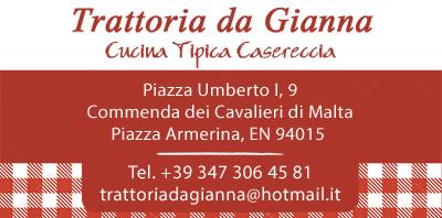 Trattoria da Gianna Piazza Armerina