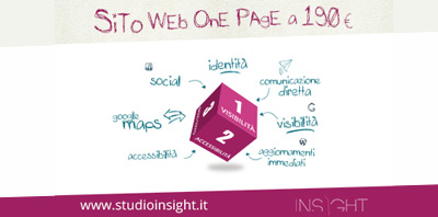 Studio Insight - Sito One Page € 190