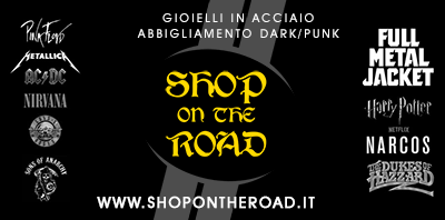 Shop On The Road - Bijotteria in Acciaio, Abbigliamento Rock/Punk