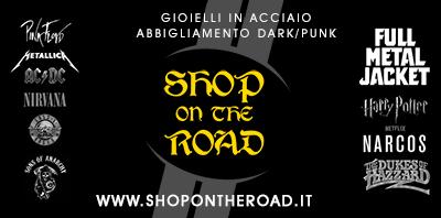 Shop On The Road - Bijotteria in Acciaio, Abbigliamento Rock/Punk