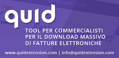 QuID Download massivo Fatture Elettroniche